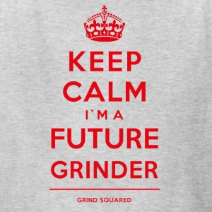 Born To Grind - Keep Calm I'm A Future Grinder Red - Kids' T-Shirt