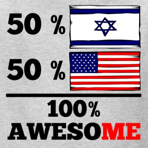 Half Israeli Half American 100% Awesome - Kids' T-Shirt