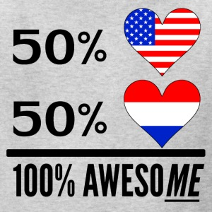 Half American Half Dutch 100% Awesome - Kids' T-Shirt