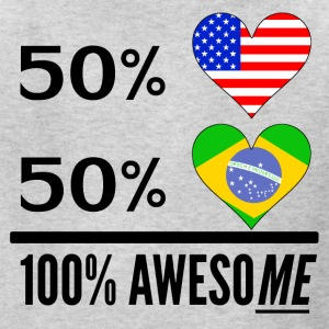 Half American Half Brazilian 100% Awesome - Kids' T-Shirt