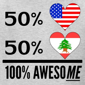 Half American Half Lebanese 100% Awesome - Kids' T-Shirt