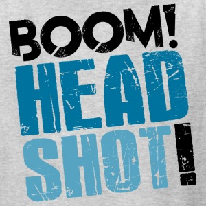 Boom Headshot! Blue - Kids' T-Shirt