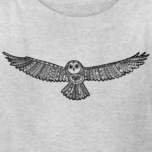The owl - Kids' T-Shirt