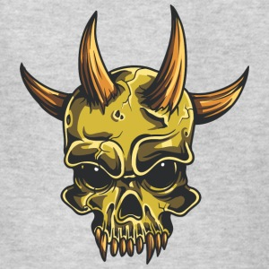 yellow_demon_skull - Kids' T-Shirt
