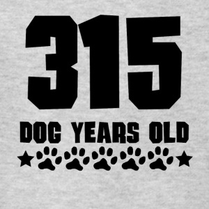 315 Dog Years Old Funny 45th Birthday - Kids' T-Shirt