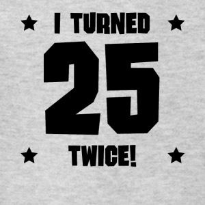 I Turned 25 Twice Funny 50th Birthday - Kids' T-Shirt