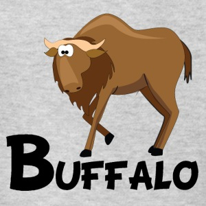 Cartoon Buffalo - Kids' T-Shirt