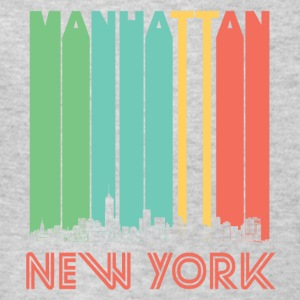 Retro Manhattan New York Skyline - Kids' T-Shirt