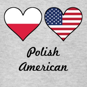 Polish American Flag Hearts - Kids' T-Shirt