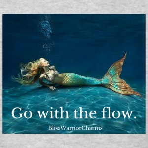 Go with the flow. - Kids' T-Shirt