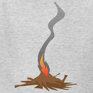 Native American Fire Indian awesome vector art - Kids' T-Shirt