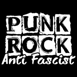 Punk rock anti fascist