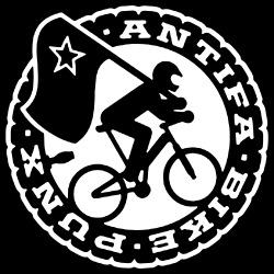 Antifa bike punx
