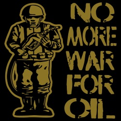 No more war for oil
