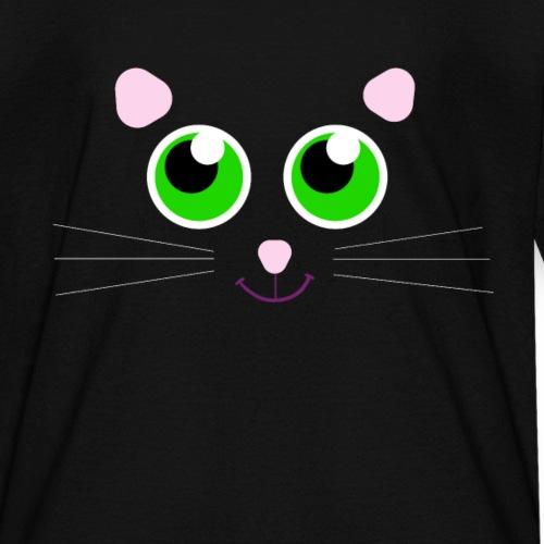 Black Cat Design - Cute For Halloween Costume - Kids' T-Shirt