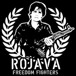 Rojava freedom fighters