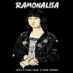 Ramonalisa she\'s a punk punk, a punk rocker
