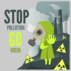 Stop pollution go green