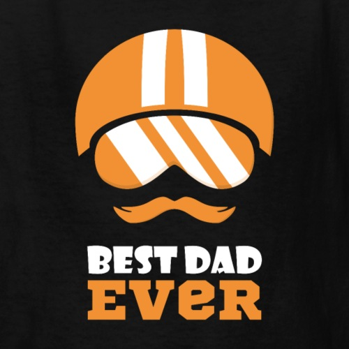 Best Motorcycle Dad Ever, Best Dad Ever - Kids' T-Shirt