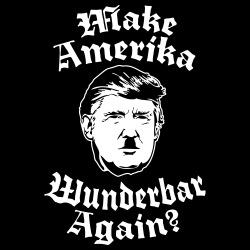 Make amerika wunderbar again?