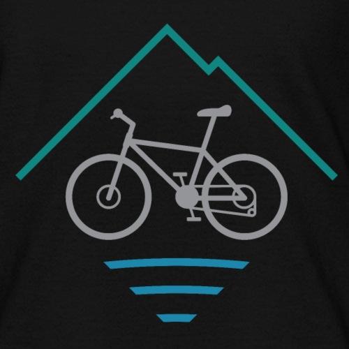 Outdoor Mountain Bike Logo - Kids' T-Shirt