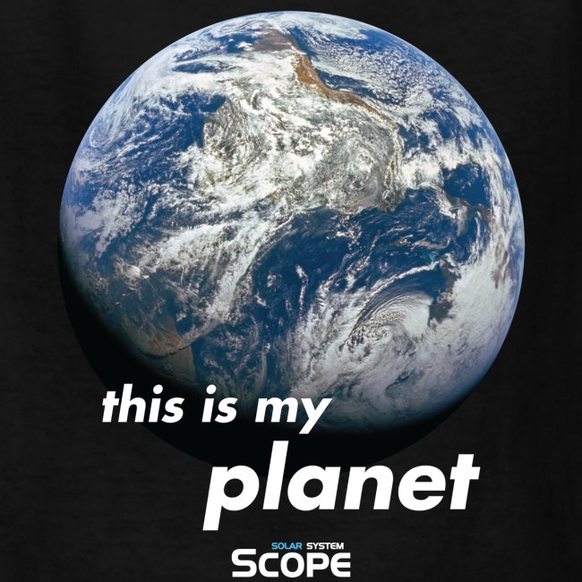 Solar System Scope : This is my Planet