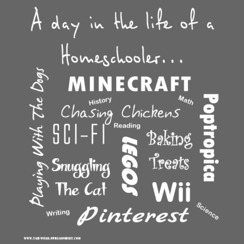 homeschooling tw png - Kids' T-Shirt