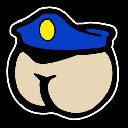 Butt Face Cop