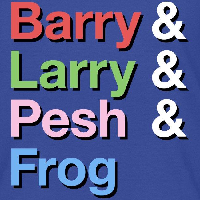 Barry-Larry-Pesh-Frog-Shi