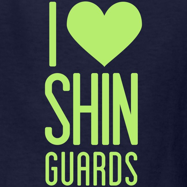 I Heart Shin Guards Women's Tee