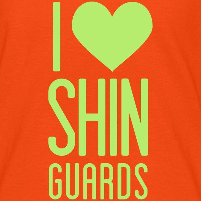 I Heart Shin Guards Women's Tee