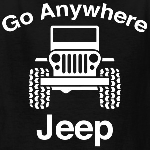 Jeep Go Anywhere - Kids' T-Shirt