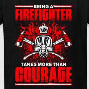 Firefighter Courage - Kids' T-Shirt