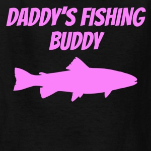 Daddy's Fishing Buddy - Kids' T-Shirt