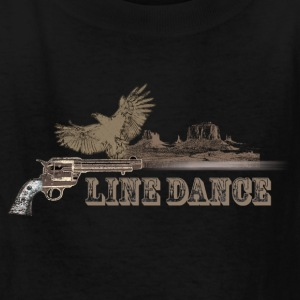 linedance14 - Kids' T-Shirt