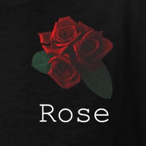 Rose White - Kids' T-Shirt