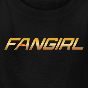 The Flash - Fangirl - Kids' T-Shirt