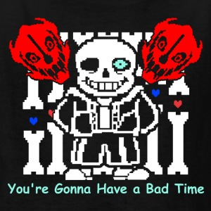 Undertale Sans Bad Time Game Funny - Kids' T-Shirt