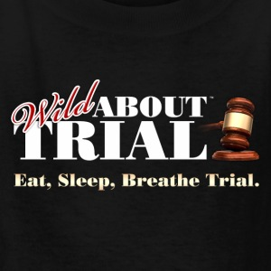 Eat, Sleep, Breathe Trial. - Kids' T-Shirt