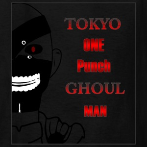 Tokyo One Punch Ghoul Man - Half view - Kids' T-Shirt