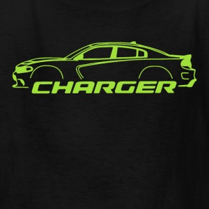 Sublime Green Charger - Kids' T-Shirt