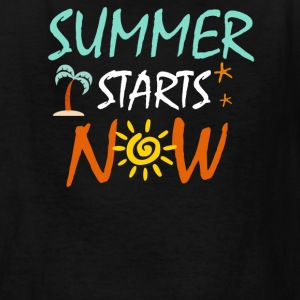 Summer Starts Now - Kids' T-Shirt