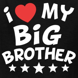 I Heart My Big Brother - Kids' T-Shirt