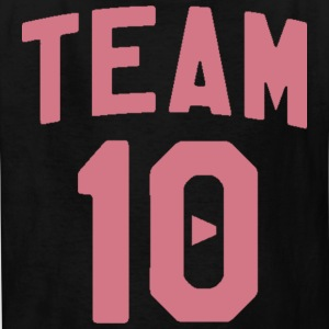 TEAM 10 TEN arc - pink - Kids' T-Shirt