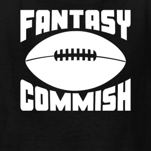 Fantasy Football Commish - Kids' T-Shirt