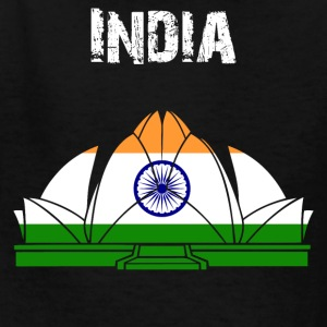 Nation-Design India Lotus Temple - Kids' T-Shirt