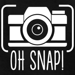 Oh Snap Gift for Photographer Funny - Kids' T-Shirt