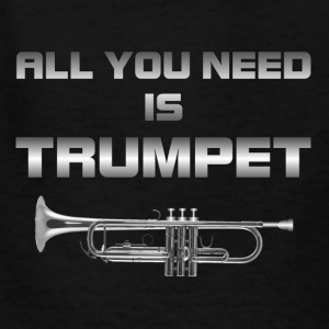 All you need is trumpet silver color - Kids' T-Shirt