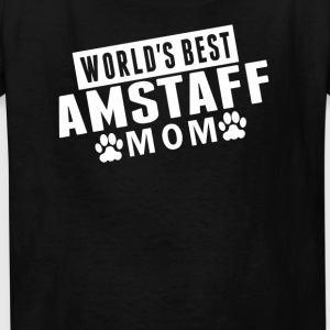 World's Best AmStaff Mom - Kids' T-Shirt