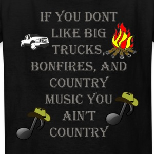 If you dont likeBog Trucks, Bonfires, Country - Kids' T-Shirt